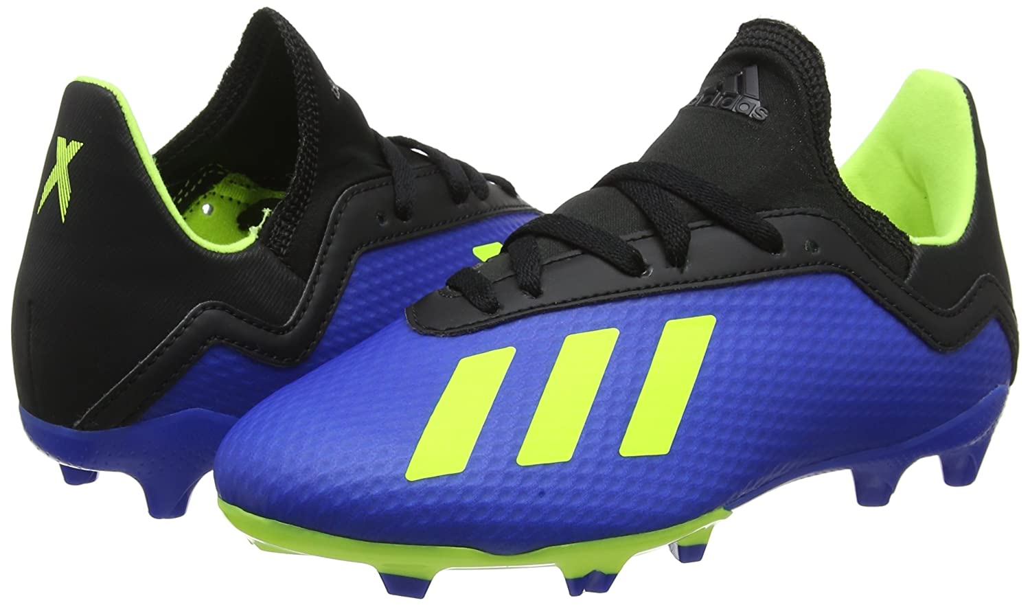 Amazon.com | adidas Kids Shoes Boys Soccer Cleats X 18.3 Firm FG Boots DB2416 (US 4.5) | Soccer
