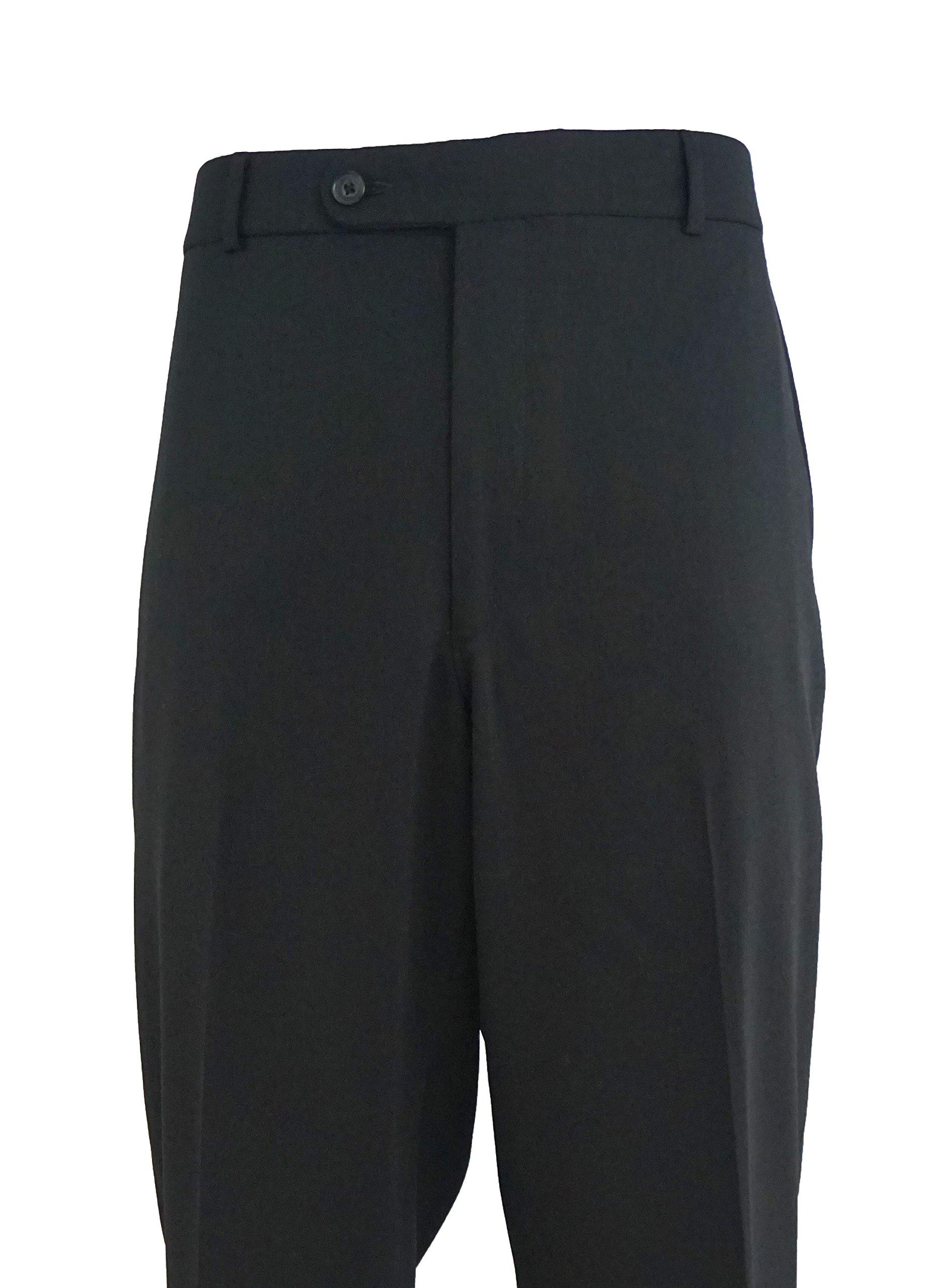 Ballin Comfort-''EZE'' Super 120's Travel Twill 100% wool ''Black'' (W40) by Ballin