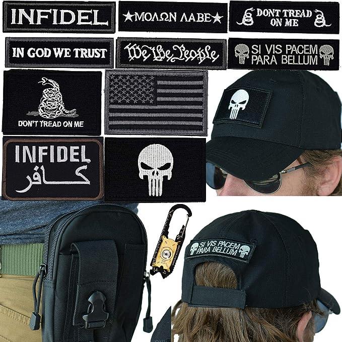 Amazon.com  Military Tactical Hat Bundle  20-in-1 Tool 14d9e4749c8