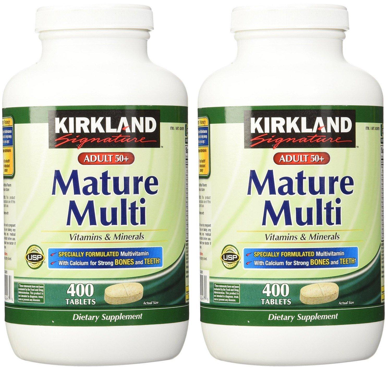 Kirkland mature multi vitamins interesting. Tell