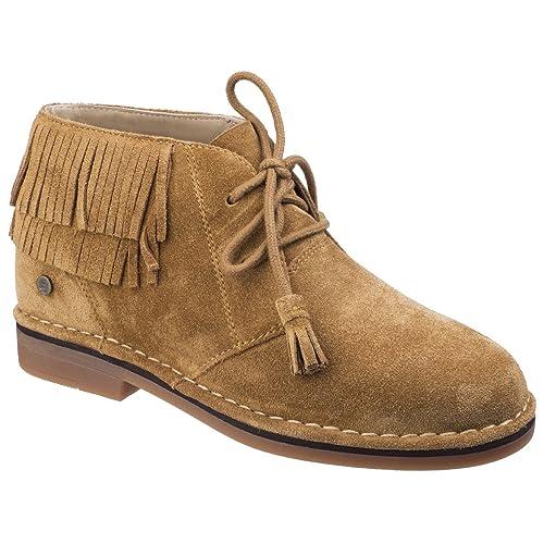 Hush Puppies - Botas de Cordones a los Tobillos Modelo Cala Catelyn para Mujer otoño/Invierno: Amazon.es: Zapatos y complementos