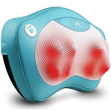 Amazon.com: Masajeador de espalda para cuello con calor ...