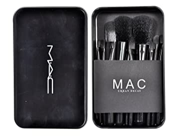 M.A.C Makeup Brush Set (12 Pieces)