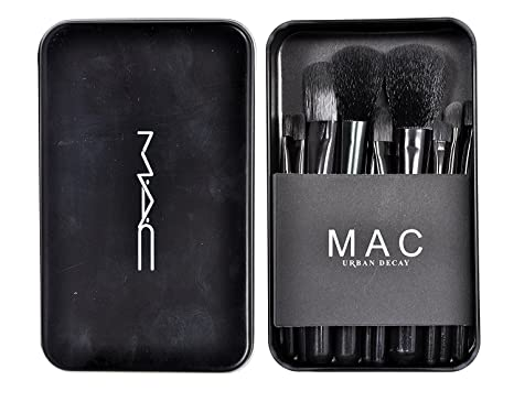 M A C Makeup Brush Set 12 Pieces Amazon In Beauty