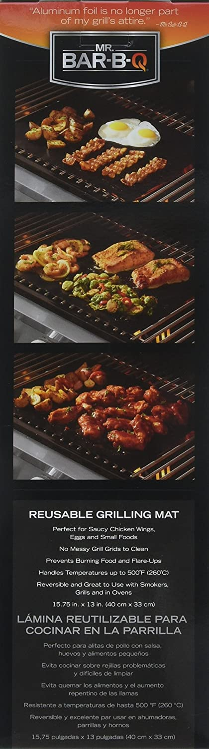Amazon.com : Mr. Bar-B-Q 06012Y Non-Stick Grilling Mat : Garden & Outdoor