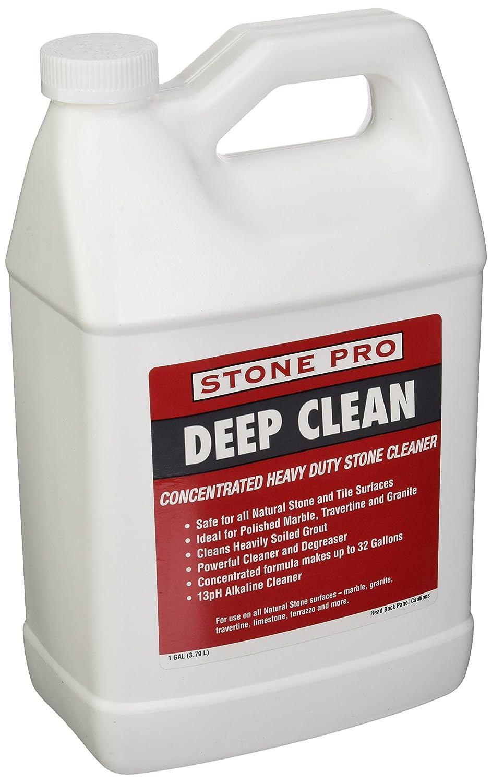 ストーンPro Deep Clean – アルカリHeavy Dutyストーンクリーナー濃縮 – 1ガロン B00JWX3M4W