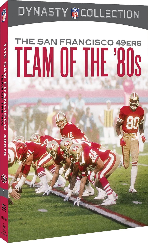 d0188bbfd Amazon.com  NFL  San Francisco 49ers - The Team of the 80s  Joe Montana