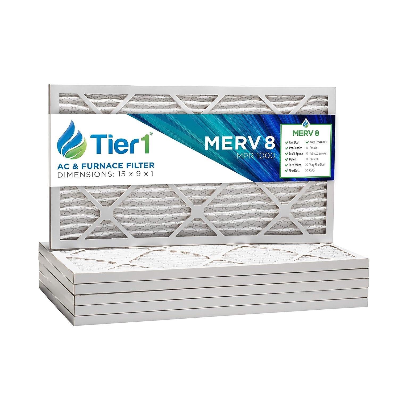 Tier1 3 M Filtrete fapf01 FAPF02 Reemplazo 15 x 9 x 1 Ultra Clean purificador de Aire filtros (4 Unidades): Amazon.es: Hogar