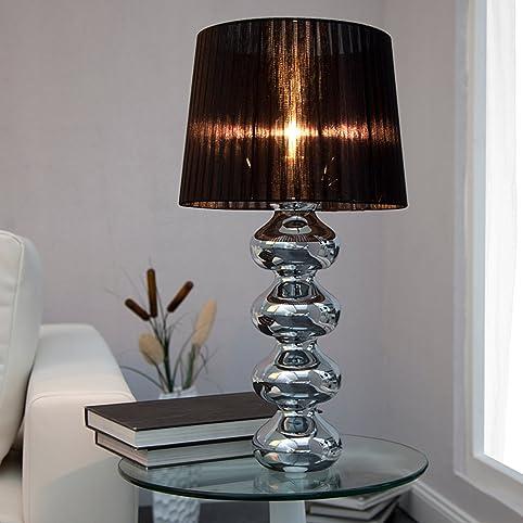 Superior Elegante Design Tischlampe MIA Mit Schwarzem Schirm Amazing Pictures