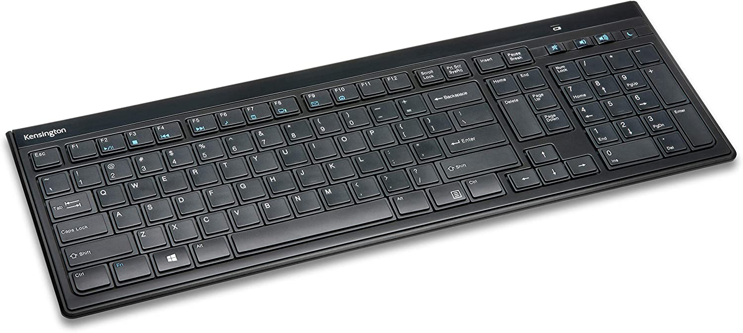 Kensington Slim Type Wireless Keyboard (K72344US)