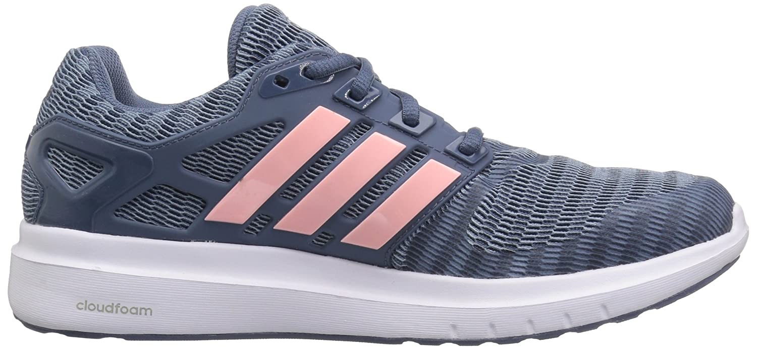 adidas Women's Energy Cloud V Running Shoe Grey/Clear B077XHXSGH 10 B(M) US|Raw Grey/Clear Shoe Orange/Tech Ink b60576