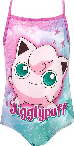 Amazon.com: Pokemon Jigglypuff - Bañador para niña: Clothing