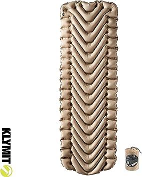 Amazon.com: Klymit Static V - Colchón hinchable para dormir ...
