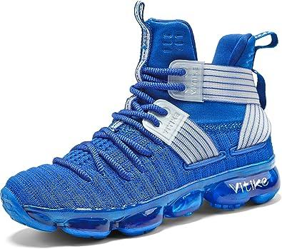Zapatillas Unisex Niños Zapatos de Baloncesto Casual Zapatos ...