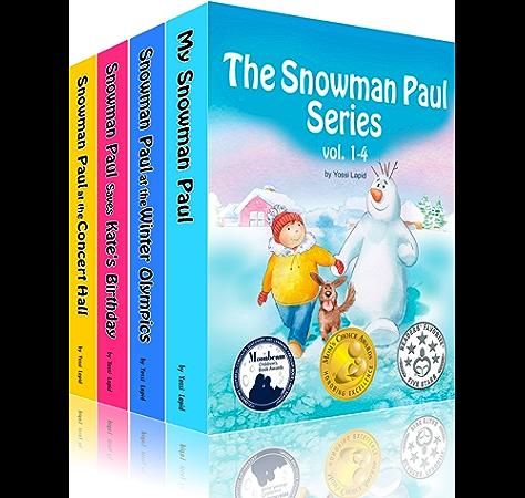 Box Set For Children The Snowman Paul Series Vol 1 4 Vol 1 4 Kindle Edition By Lapid Yossi Pasek Joanna Children Kindle Ebooks Amazon Com
