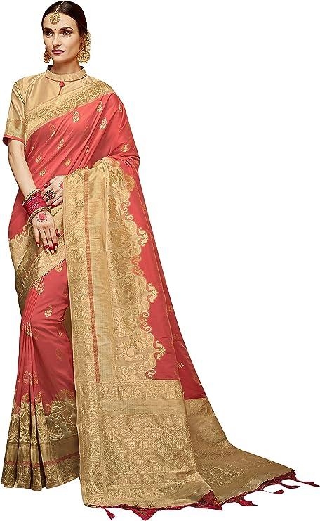Free Shipping Vintage Indian Traditional Floral Printed Art Silk Saree Festival Sari Dress Making Used Art Deco Craft Fabric Sari # EB3182