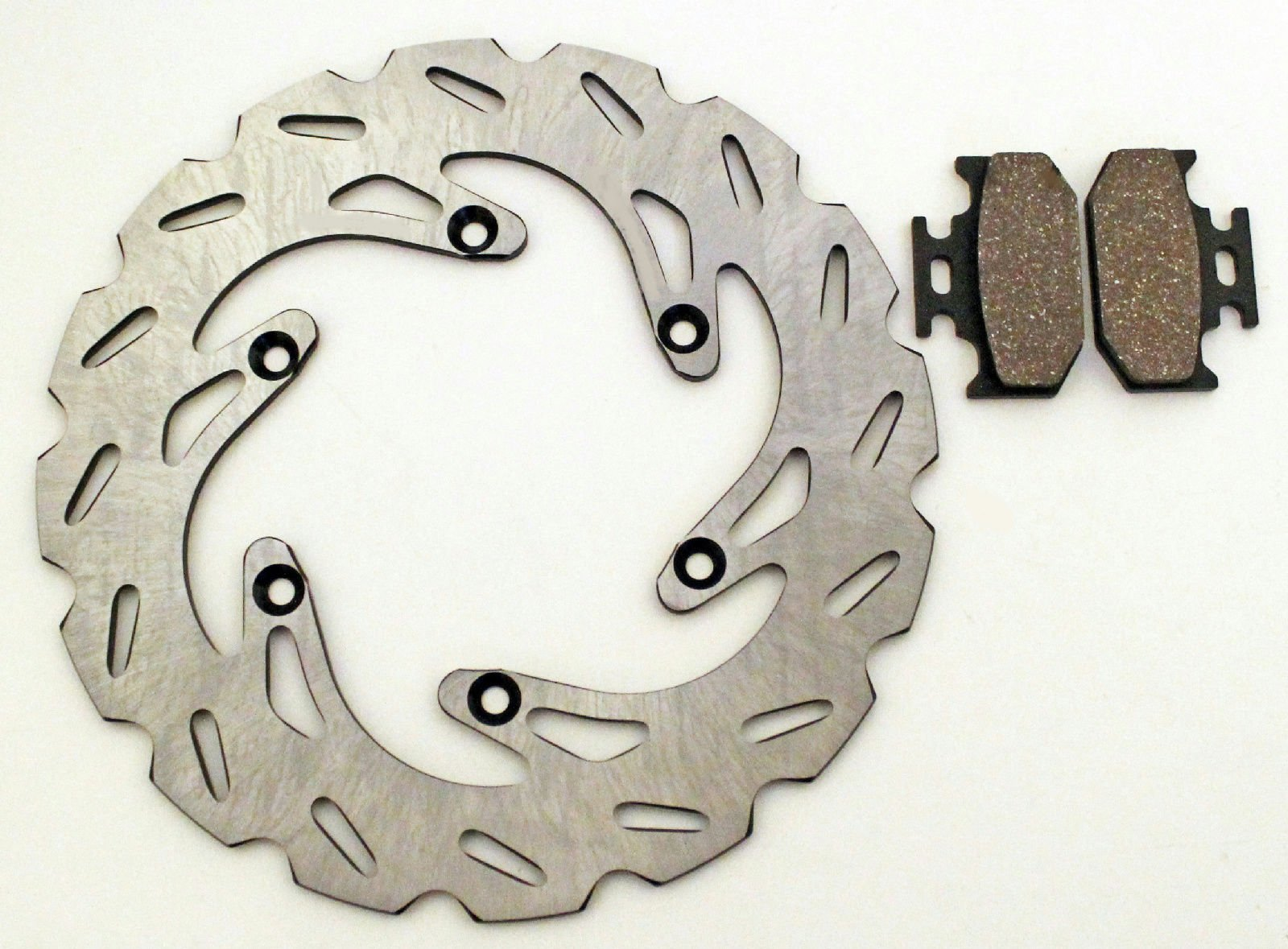 1990-1994 Kawasaki KDX200 & KX125 & KX250 Rear Brake Pads and Sport Brake Rotors