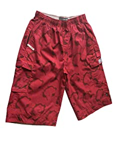 New Abercrombie & Fitch - Men - Wide Fit 3/4 Shorts Original Brand - Colour Red/Pink - Style ARBO 96 - American Size S (30 inches waist/ 77 cm)