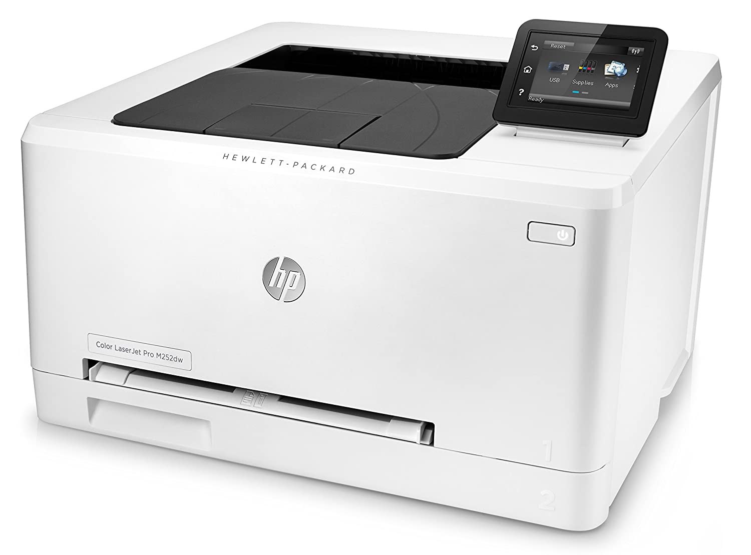 HP Color LaserJet Pro M252dw - Impresora láser (B/N 18 PPM, color ...