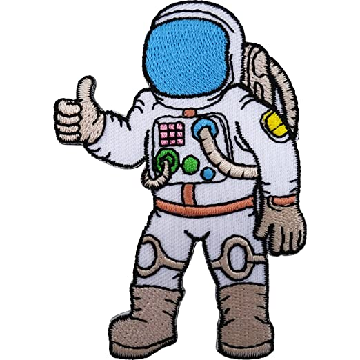 Astronauta Spaceman traje espacial Nasa T camiseta parche ...