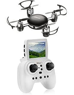 Top Race Remote Control Spy Drone With LCD Screen 24 Ghz Mini