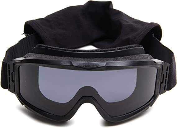 Bobster Alpha Ballistics Goggles Z87-Black Frame-2 Lenses