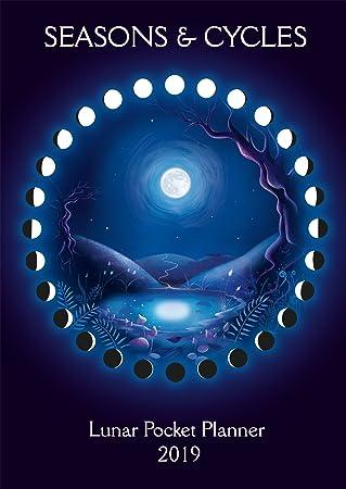 Moon Calendario Lunar - Agenda de bolsillo 2019