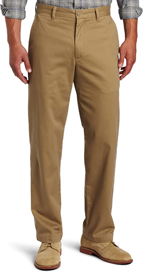 Dockers Mens Iron Free D3 Flat Front Casual Trousers