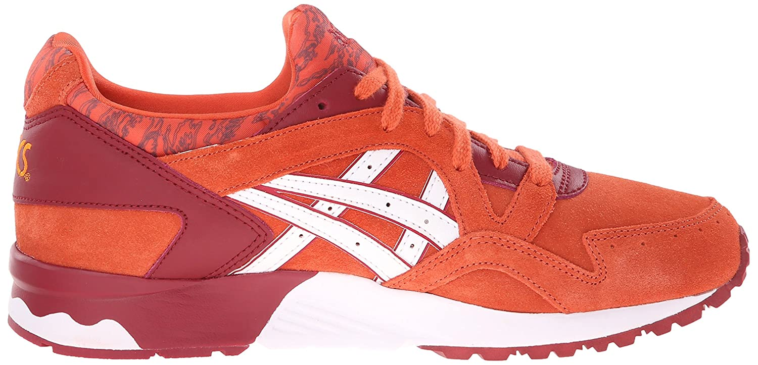 ASICS Women's Gel-Lyte V Retro Running Shoe B00ZQA29VC 11 B(M) US|Chili/White