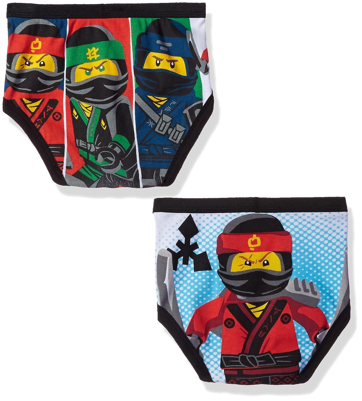 6139a0ab88 Amazon.com: LEGO Boys' 5-Pack Ninjago Brief Underwear: Clothing