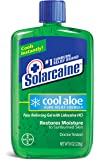 Solarcaine Cool Aloe Burn Relief Gel with Lidocaine and Aloe Vera, Doctor Tested, Fragrance Free, Alcohol Free and Non-irritating, 1 Sunburn Relief Brand (8 Ounce Gel)