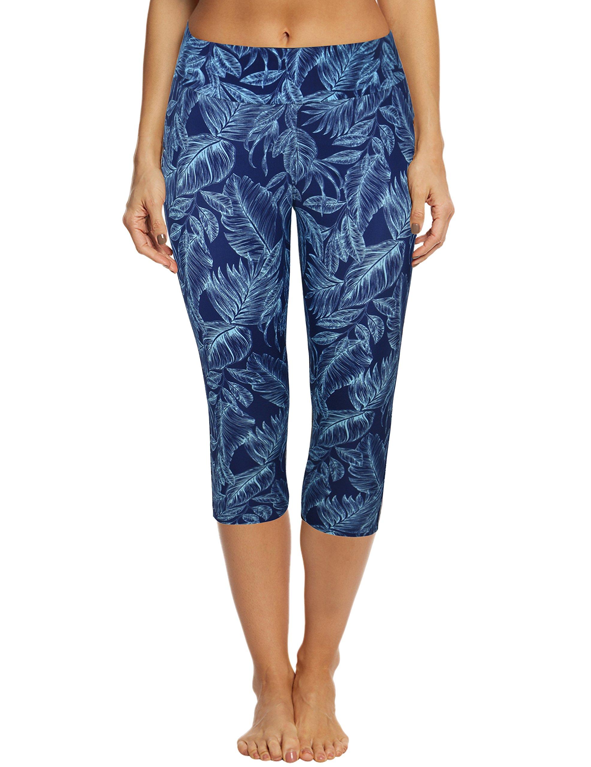 c20eb3ebac Septangle Women's Swim Pants Capris UPF 50+ Water Outdoor Sport Leggings  product image