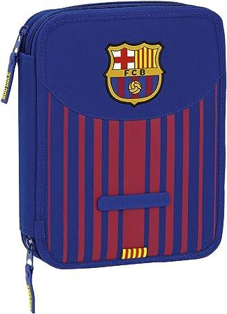 Safta Estuche F.C. Barcelona 17/18 Oficial 56 Útiles Incluidos 195x248x45mm: Amazon.es: Juguetes y juegos