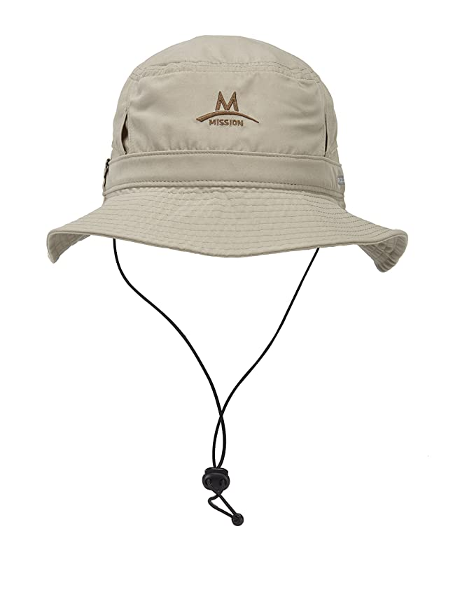 89eec71952d Amazon.com  Mission Cooling Bucket Hat