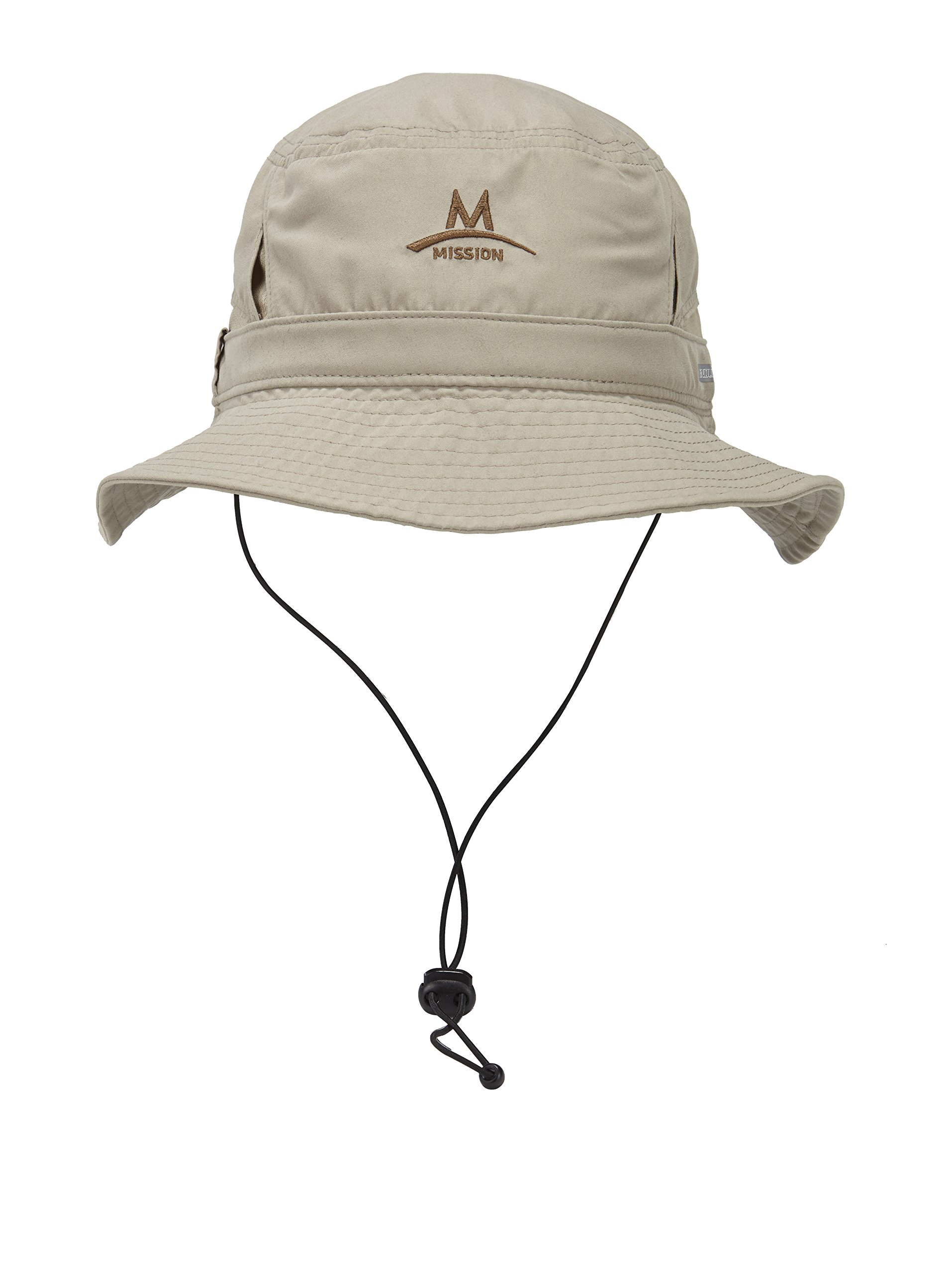 Mission Cooling Bucket Hat, Sand by Mission (Image #1)