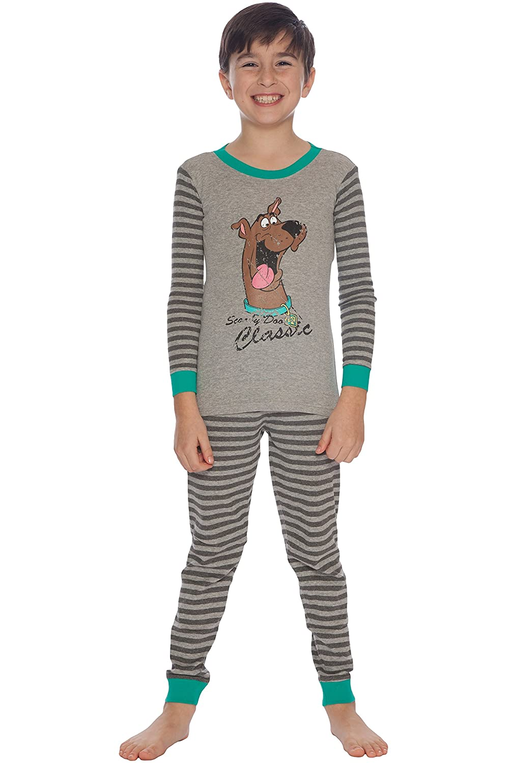 2e918b1b4a Amazon.com  Scooby Doo Boys  Vintage Pajama Set  Clothing