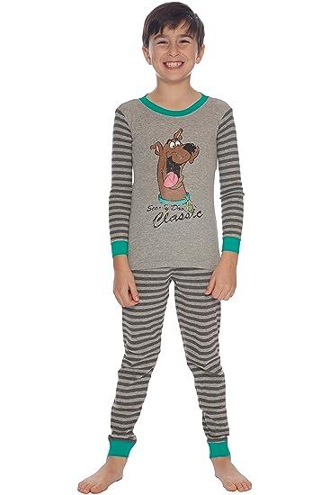 Amazon.com  Scooby Doo Boys  Vintage Pajama Set  Clothing db7ea6e97