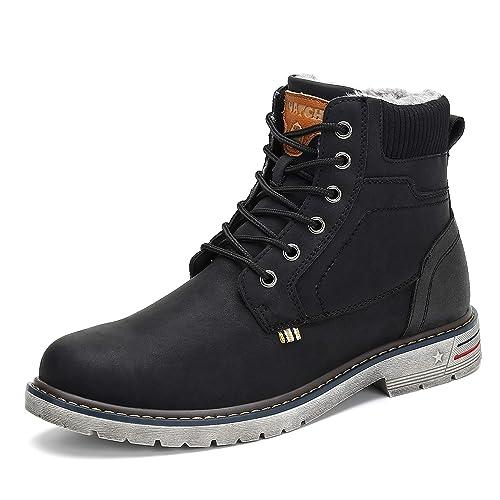 Hombre Botas Invierno Mujer Botines Zapatos Botas de Nieve Cálido Fur Forro Aire Libre Boots