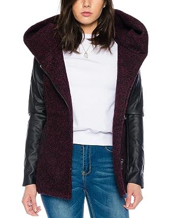 ONLY Damen Woll-Mantel onlNew Lisford Wool Coat 15136121 XS-XL, Größe: