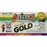 Nature's Plus Animal Parade Gold-Children's Multi-Vitamin 120 count