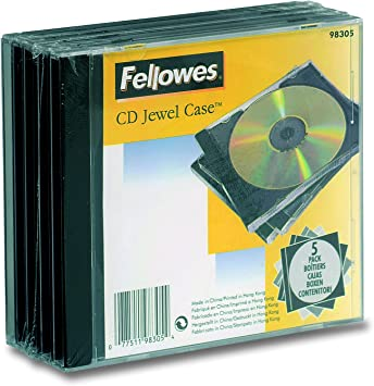 Fellowes 98305 funda para discos ópticos Caja transparente para CD ...