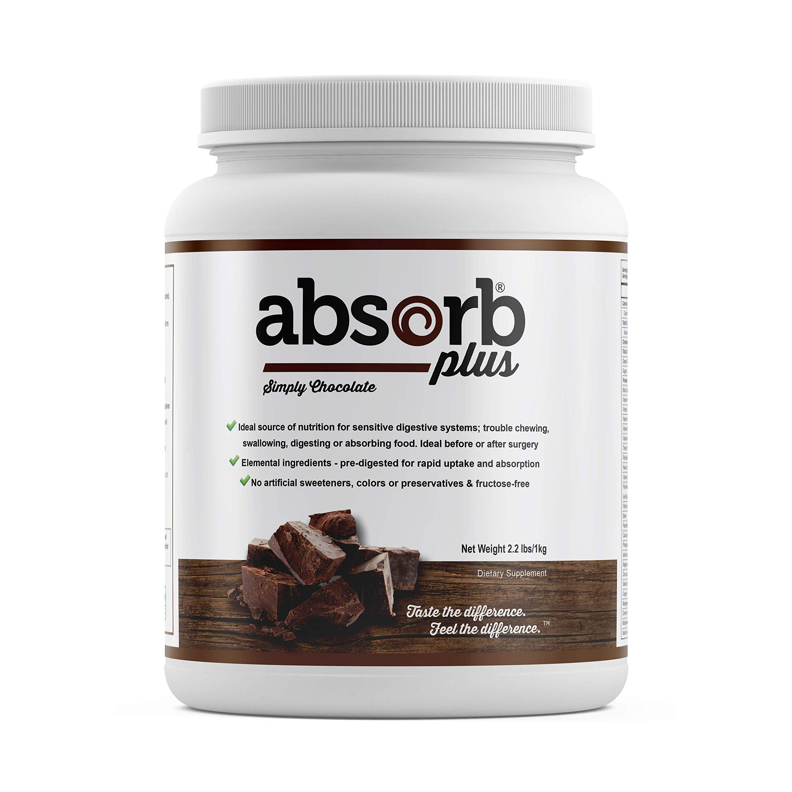 Absorb Plus (1kg, Simply Chocolate) by Absorb Plus