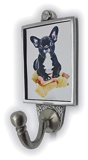 Gancho para Llavero, diseño de Perro Bulldog francés con ...