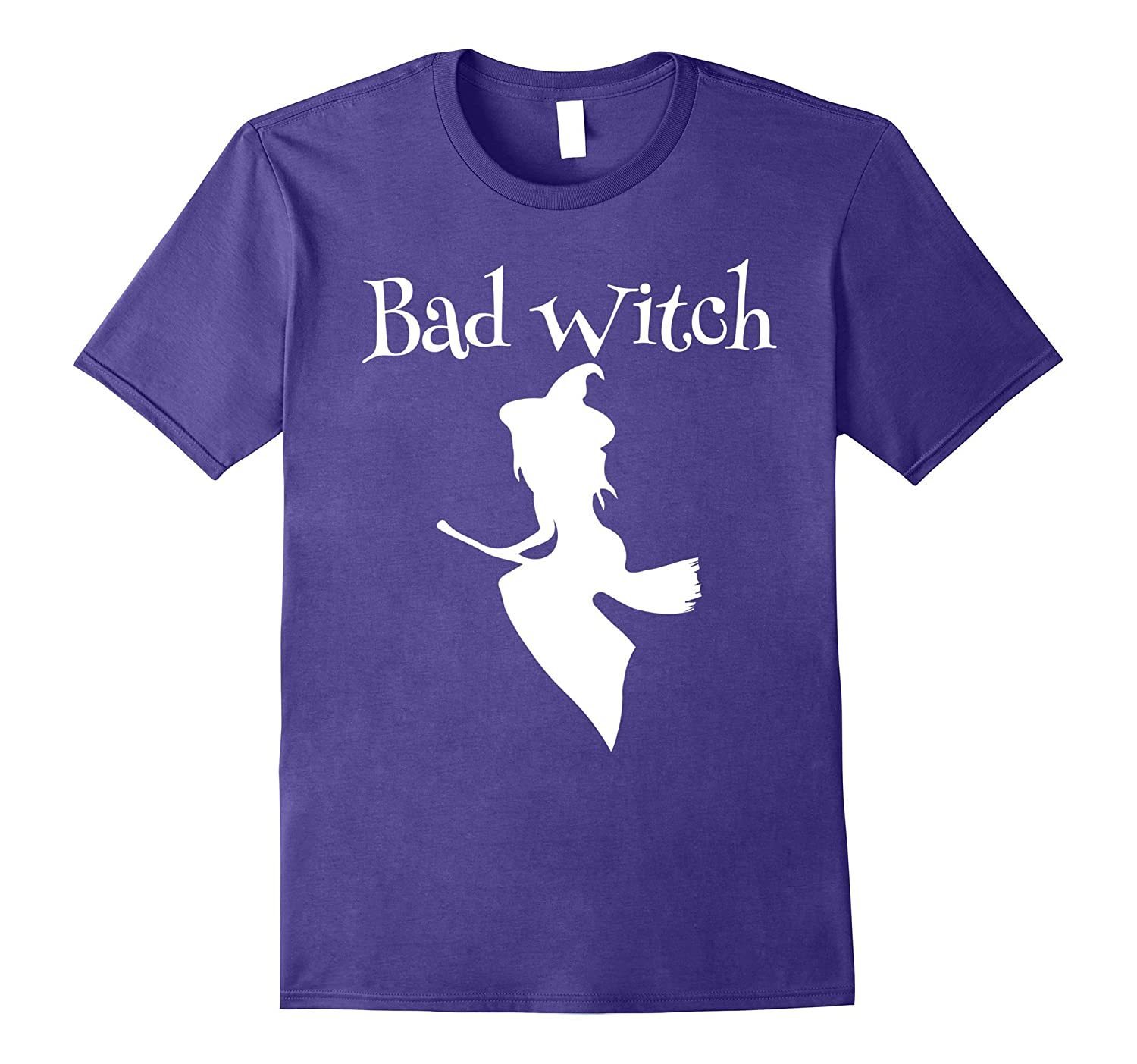 Bad Witch Funny Halloween T-Shirt-Art