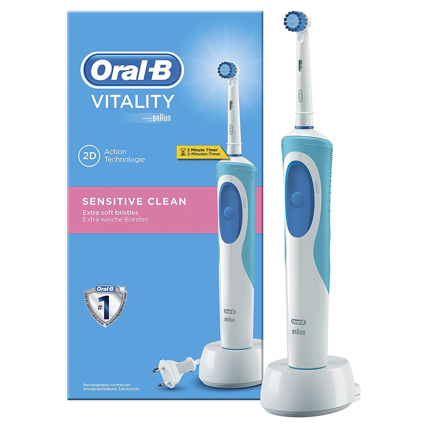 Image result for Oral-B - Vitality Sensitive Clean