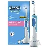 Oral-B - Cepillo de dientes recargable Vitality Sensitive Clean - con temporizador integrado
