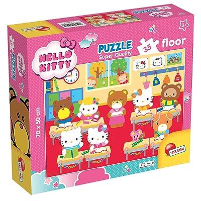 Lisciani Giochi 59980 - Puzzle SQ Floor 35 Hello Kitty: Juguetes y juegos