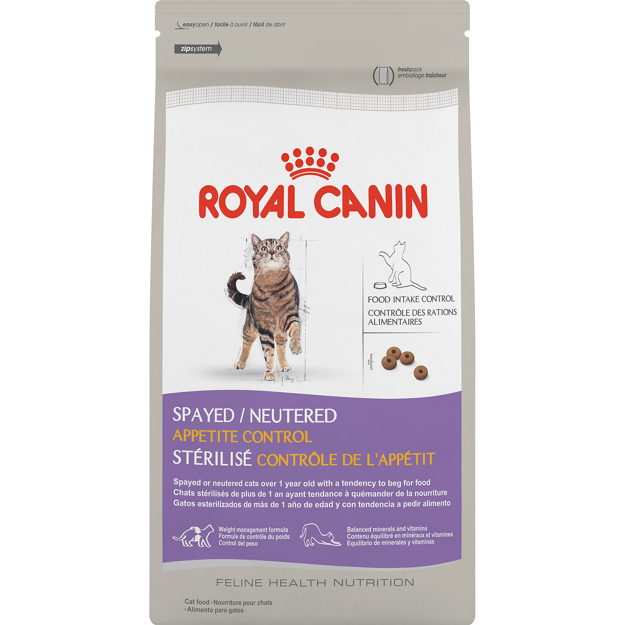 ROYAL CANIN FELINE HEALTH NUTRITION Spayed/Neutered Appetite Control dry cat food