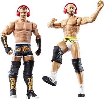WWE BATTLE PACK SMACK DOWN TYSON KIDD & CESARO: Amazon.es: Juguetes y juegos
