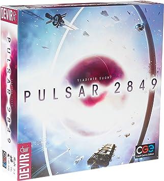 Devir - Pulsar 2489, juego de mesa (ed. en español): Amazon.es ...